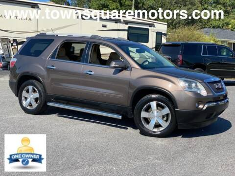2011 GMC Acadia for sale at Town Square Motors in Lawrenceville GA