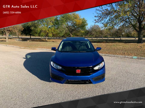 2016 Honda Civic for sale at GTR Auto Sales LLC in Haltom City TX