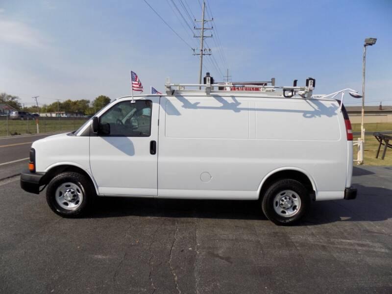 2014 Chevrolet Express Cargo for sale at MYLENBUSCH AUTO SOURCE in O` Fallon MO