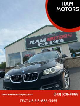 2016 BMW 5 Series for sale at RAM MOTORS in Cincinnati OH