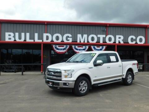 2017 Ford F-150 for sale at Bulldog Motor Company in Borger TX