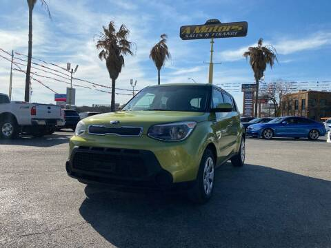 2014 Kia Soul for sale at A MOTORS SALES AND FINANCE in San Antonio TX