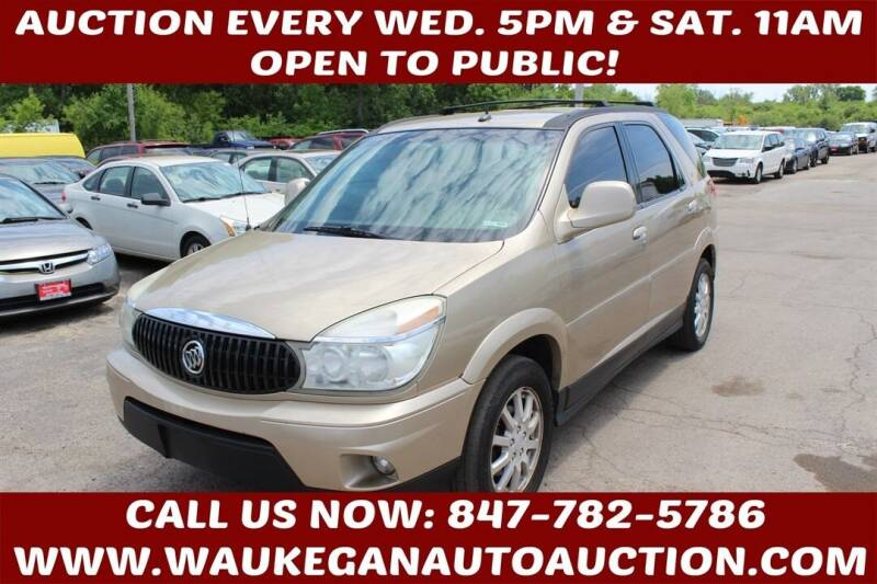 2006 Buick Rendezvous for sale at Waukegan Auto Auction in Waukegan IL