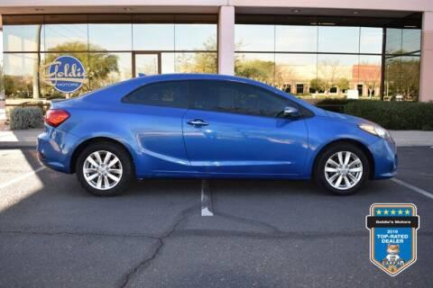 2014 Kia Forte Koup for sale at GOLDIES MOTORS in Phoenix AZ