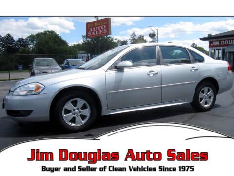 2010 Chevrolet Impala for sale at Jim Douglas Auto Sales in Pontiac MI