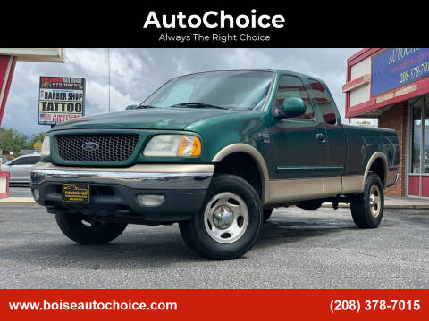 2000 Ford F-150 for sale at AutoChoice in Boise ID