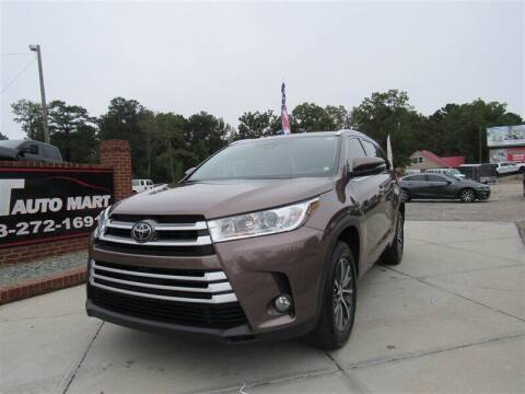 2017 Toyota Highlander for sale at J T Auto Group in Sanford NC