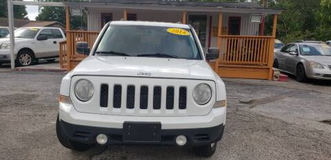 2014 Jeep Patriot for sale at Anthony's Auto Sales of Texas, LLC in La Porte TX