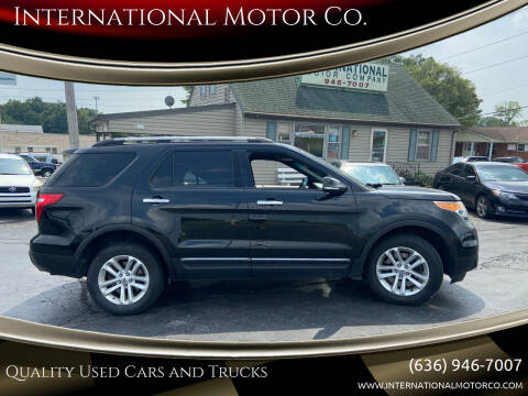 2014 Ford Explorer for sale at International Motor Co. in Saint Charles MO