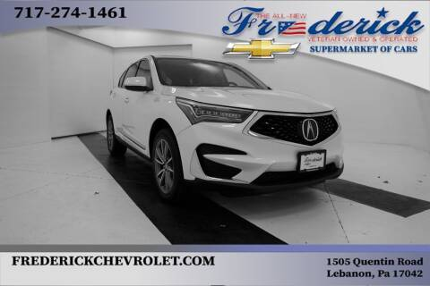 2019 Acura RDX for sale at Lancaster Pre-Owned in Lancaster PA