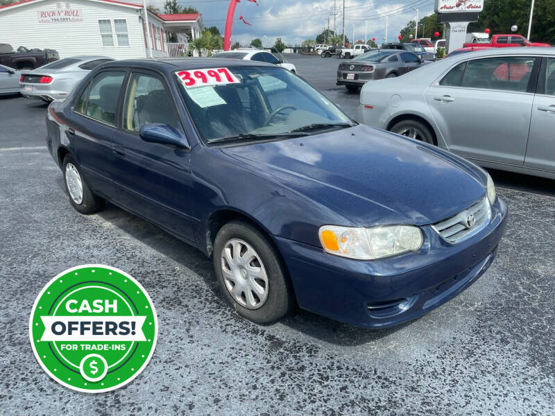 2002 Toyota Corolla for sale at Rock 'n Roll Auto Sales in West Columbia SC
