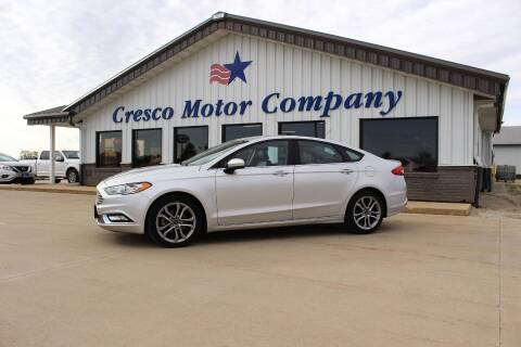 2017 Ford Fusion for sale at Cresco Motor Company in Cresco IA