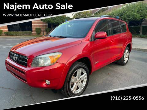2008 Toyota RAV4 for sale at Najem Auto Sale in Sacramento CA
