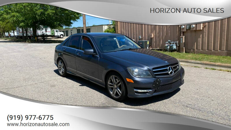 2014 Mercedes-Benz C-Class for sale at Horizon Auto Sales in Raleigh NC