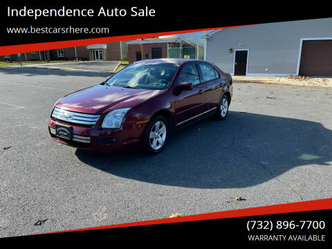2007 Ford Fusion for sale at Independence Auto Sale in Bordentown NJ
