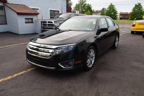 2010 Ford Fusion for sale at L&J AUTO SALES in Birdsboro PA