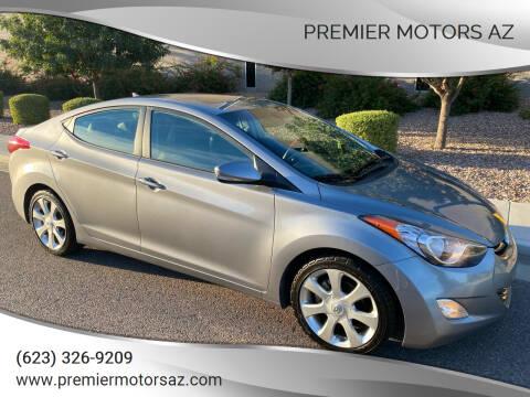 2012 Hyundai Elantra for sale at Premier Motors AZ in Phoenix AZ