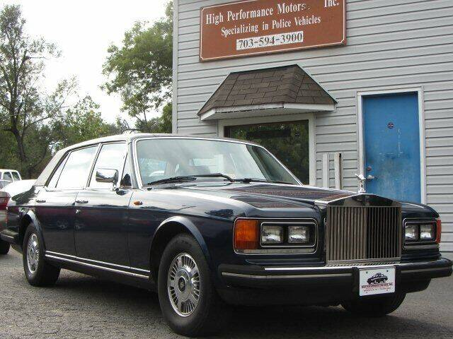 1985 Rolls-Royce Silver Spur for sale at High Performance Motors in Nokesville VA