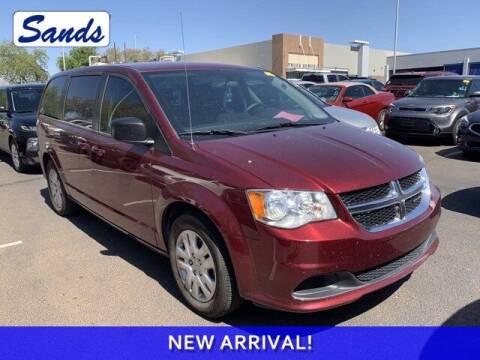 2018 Dodge Grand Caravan for sale at Sands Chevrolet in Surprise AZ