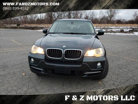 2008 BMW X5 for sale at F & Z MOTORS LLC in Waterbury CT