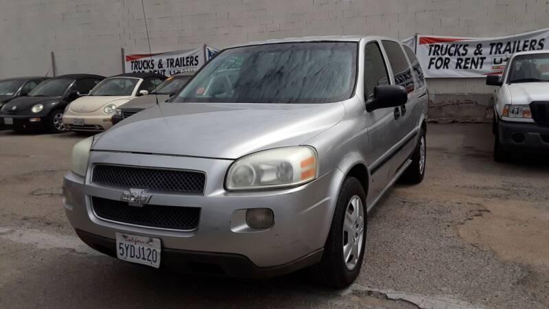 2007 Chevrolet Uplander for sale at Goleta Motors in Goleta CA