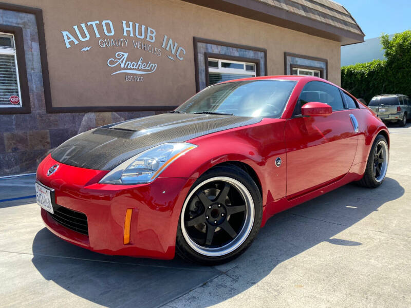 2004 Nissan 350Z for sale at Auto Hub, Inc. in Anaheim CA