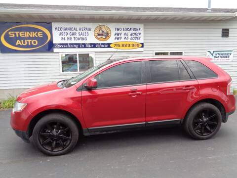 2010 Ford Edge for sale at STEINKE AUTO INC. - Steinke Auto Inc (South) in Clintonville WI