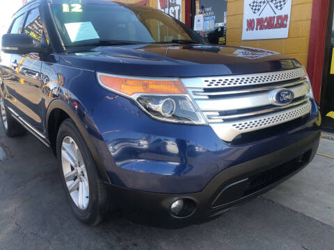 2012 Ford Explorer for sale at Sunday Car Company LLC in Phoenix AZ