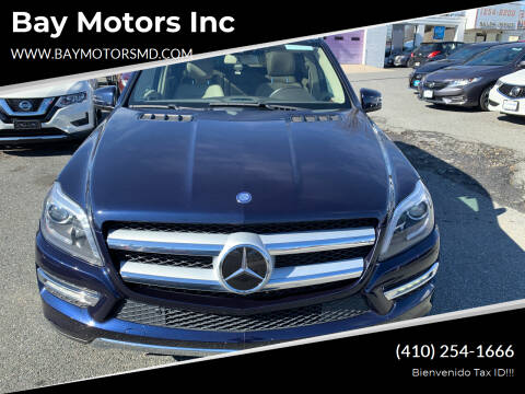 2015 Mercedes-Benz GL-Class for sale at Bay Motors Inc in Baltimore MD