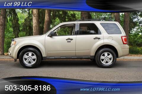 2010 Ford Escape for sale at LOT 99 LLC in Milwaukie OR
