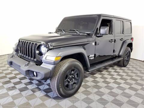 2018 Jeep Wrangler Unlimited for sale at PHIL SMITH AUTOMOTIVE GROUP - Joey Accardi Chrysler Dodge Jeep Ram in Pompano Beach FL
