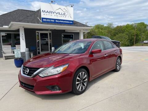 2017 Nissan Altima for sale at Maryville Auto Sales in Maryville TN