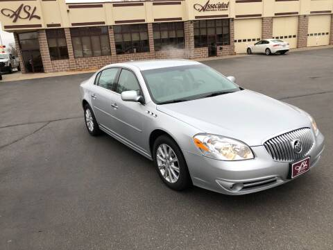 2011 Buick Lucerne for sale at ASSOCIATED SALES & LEASING in Marshfield WI