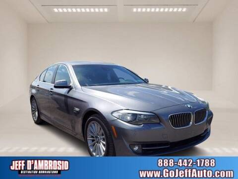 2011 BMW 5 Series for sale at Jeff D'Ambrosio Auto Group in Downingtown PA