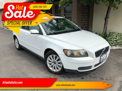 2005 Volvo S40 for sale at AllanteAuto.com in Santa Ana CA