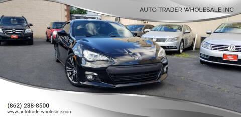 2013 Subaru BRZ for sale at Auto Trader Wholesale Inc in Saddle Brook NJ