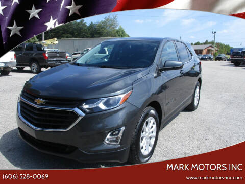 2018 Chevrolet Equinox for sale at Mark Motors Inc in Gray KY
