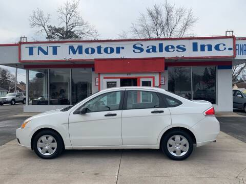 2009 Ford Focus for sale at TNT Motor Sales in Oregon IL