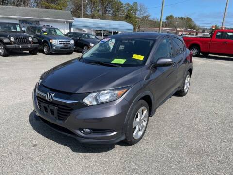 2016 Honda HR-V for sale at U FIRST AUTO SALES LLC in East Wareham MA