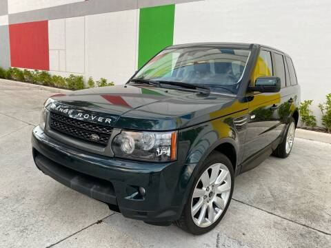 2013 Land Rover Range Rover Sport for sale at Auto Beast in Fort Lauderdale FL