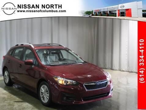 2017 Subaru Impreza for sale at Auto Center of Columbus in Columbus OH