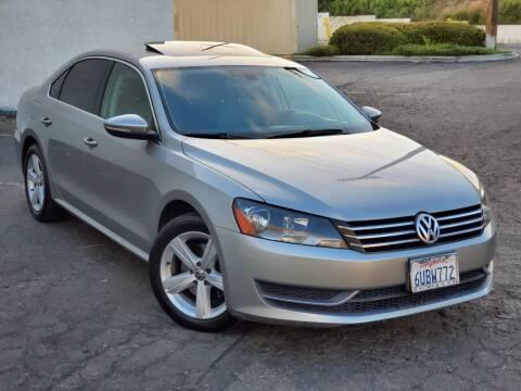 2012 Volkswagen Passat for sale at Gold Coast Motors in Lemon Grove CA