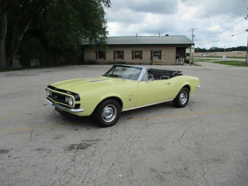 1967 Chevrolet Camaro for sale at RJ Motors in Plano IL