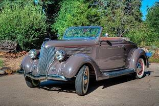 1936 Ford Deluxe for sale at Classic Car Deals in Cadillac MI