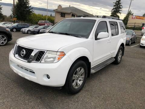 2009 Nissan Pathfinder for sale at KARMA AUTO SALES in Federal Way WA