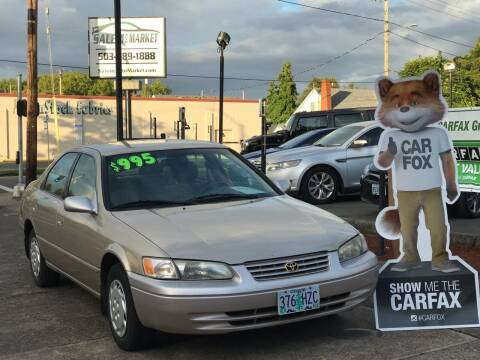 1998 Toyota Camry for sale at Salem Auto Market in Salem OR