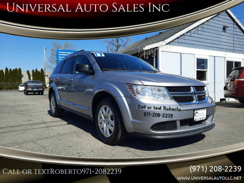 2017 Dodge Journey for sale at Universal Auto Sales Inc in Salem OR