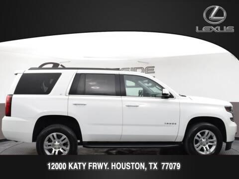 2020 Chevrolet Tahoe for sale at LEXUS in Houston TX