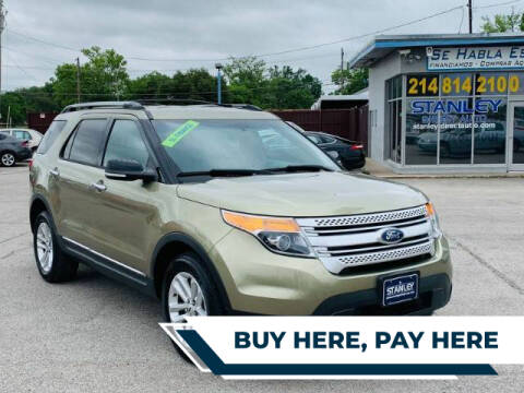 2013 Ford Explorer for sale at Stanley Automotive Finance Enterprise - STANLEY DIRECT AUTO in Mesquite TX