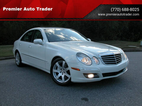 2008 Mercedes-Benz E-Class for sale at Premier Auto Trader in Alpharetta GA